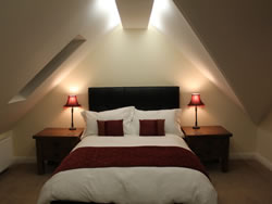 The attic room in Kingston lodge Self Catering in Orkney
