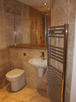 Kingston lodge - Self Catering House in Orkney - shower room
