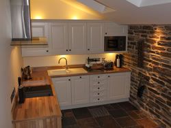 Kingston lodge in Orkney has a stunning modern and unique kitchen