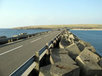 The Churchill Barriers in Orkney